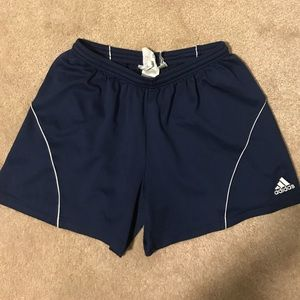 Navy Blue Adidas Soccer Shorts ⚽️